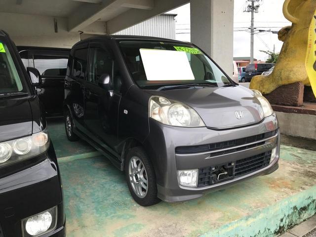 沖縄の中古車 ホンダ ライフ 車両価格 33万円 リ済込 2009(平成21)年 12.4万km グレー
