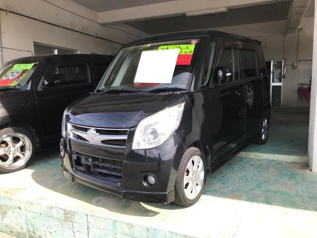 沖縄の中古車 スズキ パレット 車両価格 39万円 リ済込 2009(平成21)年 10.8万km ブラック