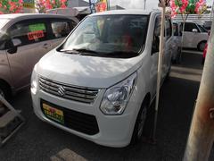 沖縄の中古車 スズキ ワゴンR 車両価格 54万円 リ済込 平成25年 5.4万K パール