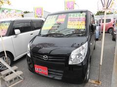 沖縄の中古車 マツダ フレアワゴン 車両価格 64万円 リ済込 平成25年 4.6万K ブラック