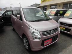 沖縄の中古車 スズキ ワゴンR 車両価格 54万円 リ済込 平成25年 5.0万K ピンク