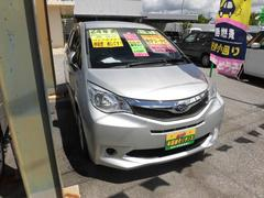 沖縄の中古車 スバル トレジア 車両価格 59万円 リ済込 平成24年 1.0万K シルバー