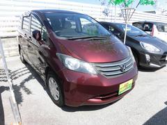 沖縄の中古車 ホンダ フリード 車両価格 49万円 リ済込 平成21年 8.3万K ダークレッド