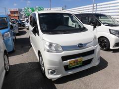 沖縄の中古車 スバル ステラ 車両価格 54万円 リ済込 平成23年 7.9万K パール