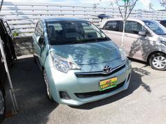 沖縄の中古車 トヨタ ラクティス 車両価格 69万円 リ済込 平成24年 6.4万K グリーン