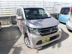 沖縄の中古車 ホンダ N−WGN 車両価格 74万円 リ済込 平成26年 1.6万K ピンク