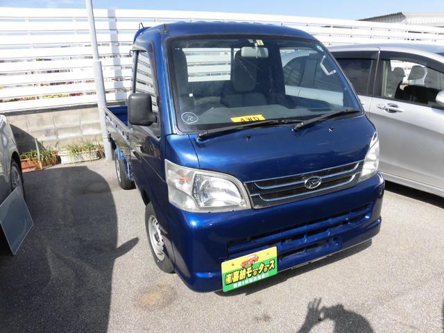 沖縄の中古車 ダイハツ ハイゼットトラック 車両価格 54万円 リ済込 平成26年 6.7万km ブルー