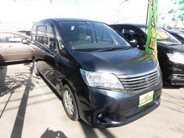 沖縄の中古車 スズキ ランディ 車両価格 79万円 リ済込 平成24年 9.2万km ダークブルー