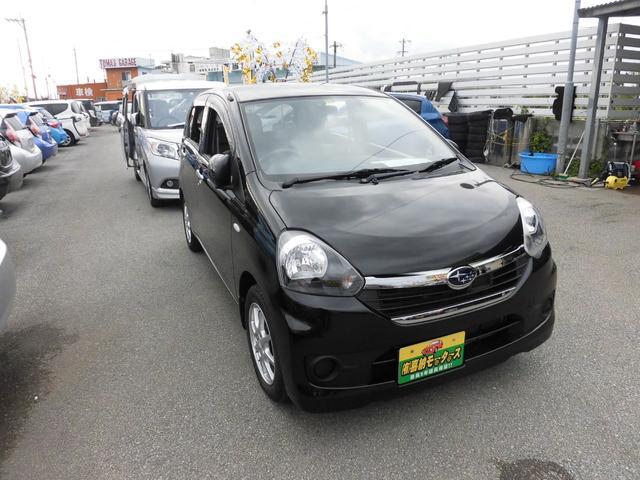 沖縄の中古車 スバル プレオプラス 車両価格 43万円 リ済込 平成26年 7.2万km ブラック