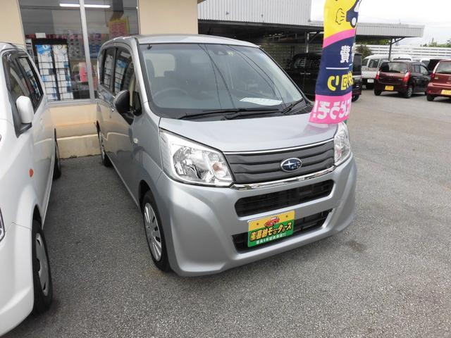 沖縄の中古車 スバル ステラ 車両価格 74万円 リ済込 平成28年 1.5万km シルバー