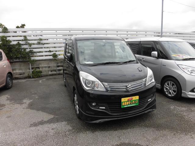 沖縄県の中古車ならソリオ ブラック&ホワイト 両側パワースライド ワンセグ ナビ