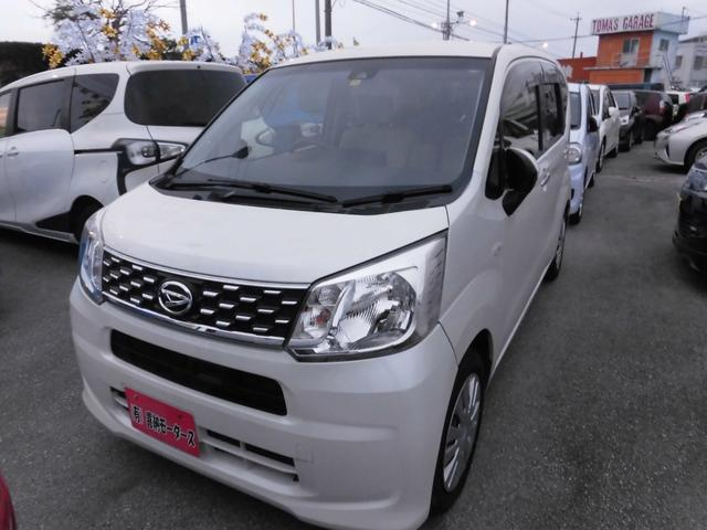 沖縄の中古車 ダイハツ ムーヴ 車両価格 64万円 リ済込 平成27年 6.1万km パールホワイト