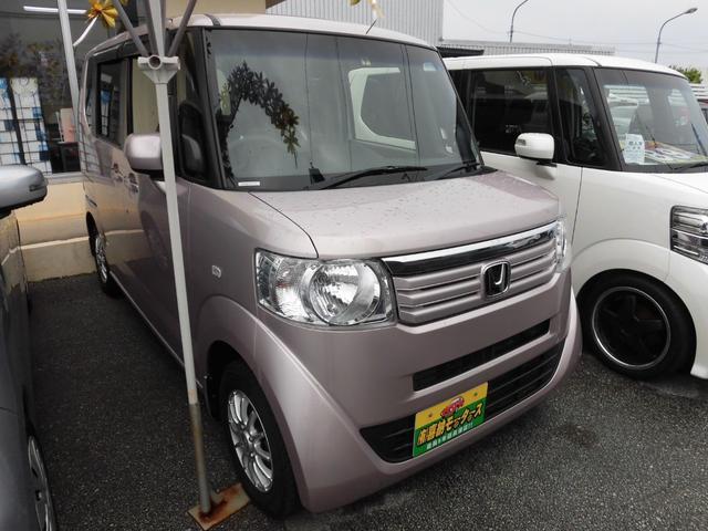 沖縄の中古車 ホンダ N-BOX 車両価格 73万円 リ済込 平成24年 8.8万km ピンクM
