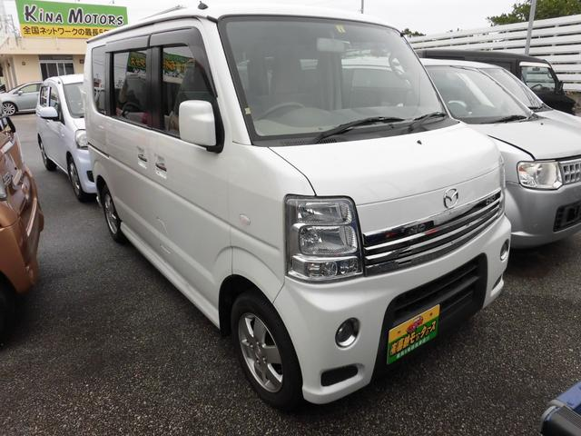 沖縄の中古車 マツダ スクラムワゴン 車両価格 70万円 リ済込 平成26年 10.0万km パール