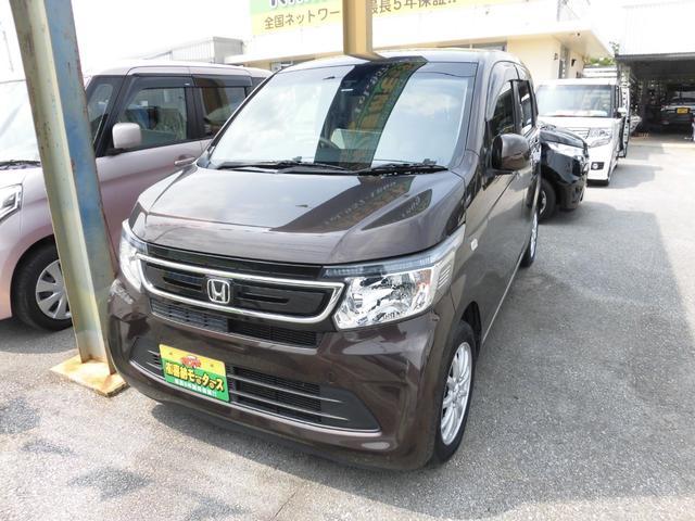 沖縄の中古車 ホンダ N-WGN 車両価格 63万円 リ済込 平成26年 9.4万km ブラウンM