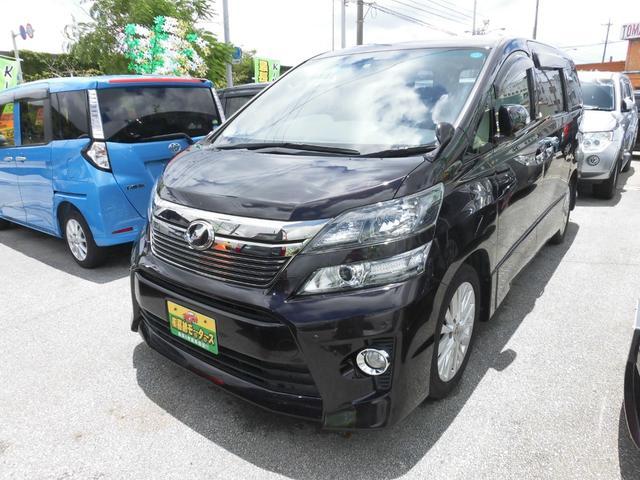 沖縄県の中古車ならヴェルファイア 2.4Z7名乗り 地デジ HDDナビ 新春価格