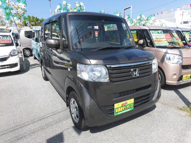 沖縄の中古車 ホンダ N-BOX 車両価格 63万円 リ済込 2012(平成24)年 9.7万km ブラウンM