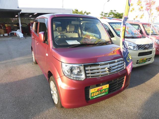 沖縄の中古車 スズキ MRワゴンWit 車両価格 54万円 リ済込 2014(平成26)年 6.1万km ピンクM