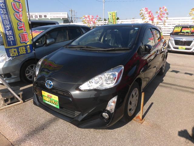 沖縄県の中古車ならアクア Sスタイルブラック  新春価格