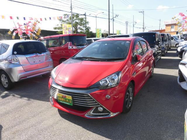 沖縄県の中古車ならアクア G G's 新春価格