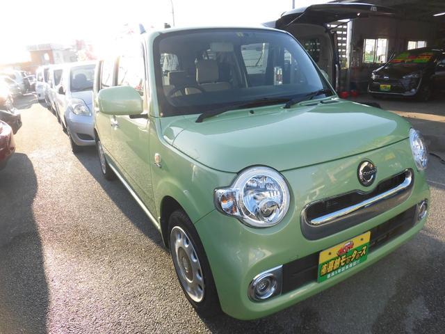 沖縄の中古車 ダイハツ ミラココア 車両価格 64万円 リ済込 2015(平成27)年 7.5万km グリーンM