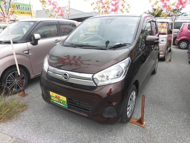 沖縄の中古車 日産 デイズ 車両価格 70万円 リ済込 2016(平成28)年 1.2万km ブラウンM