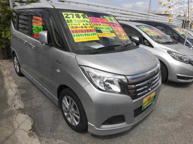 沖縄の中古車 スズキ ソリオ 車両価格 108万円 リ済込 2015(平成27)年 2.1万km シルバーM