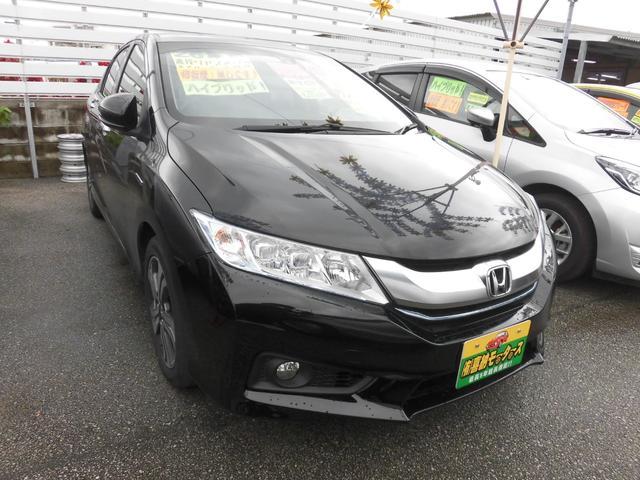 沖縄の中古車 ホンダ グレイス 車両価格 79万円 リ済込 2014(平成26)年 7.2万km ブラックM