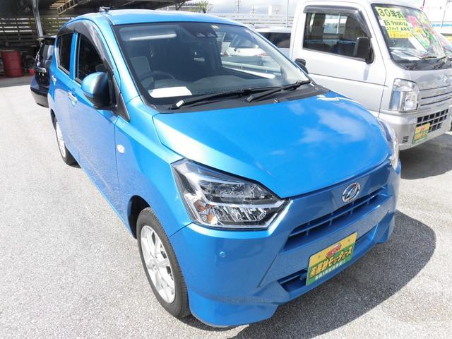 沖縄の中古車 ダイハツ ミライース 車両価格 84万円 リ済込 2018(平成30)年 0.9万km ブルーM