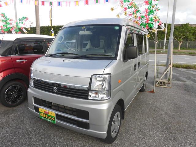沖縄県の中古車ならエブリイワゴン 車いす移動車 後部電動固定