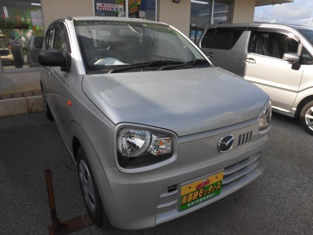 沖縄の中古車 マツダ キャロル 車両価格 64万円 リ済込 2018(平成30)年 0.3万km シルバーM