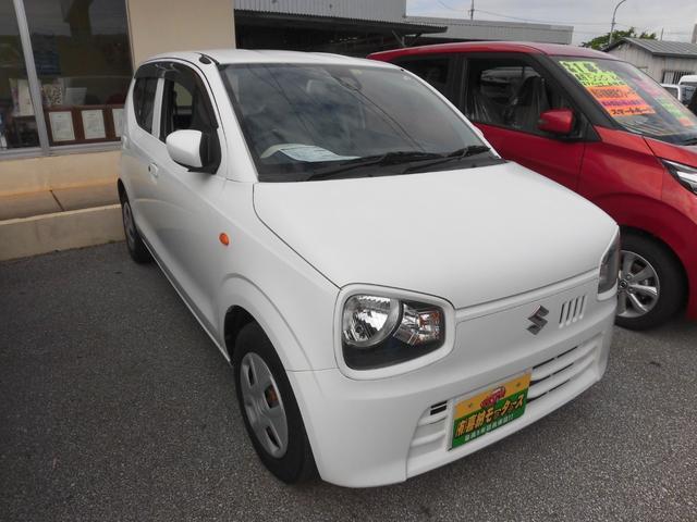 沖縄の中古車 スズキ アルト 車両価格 44万円 リ済込 2015(平成27)年 6.9万km ホワイト