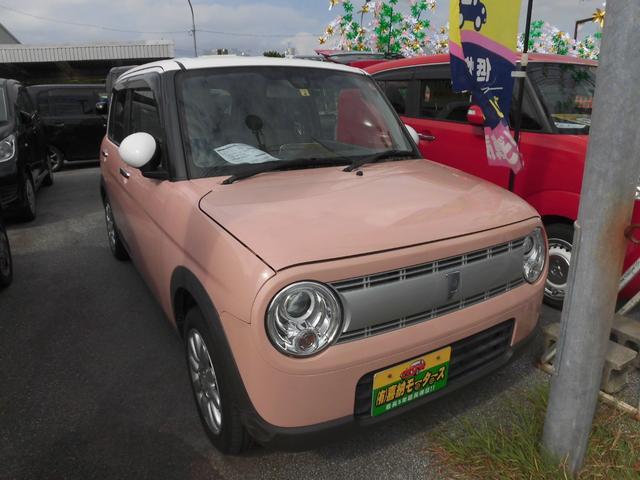 沖縄の中古車 スズキ アルトラパン 車両価格 84万円 リ済込 2016(平成28)年 3.6万km ツートン