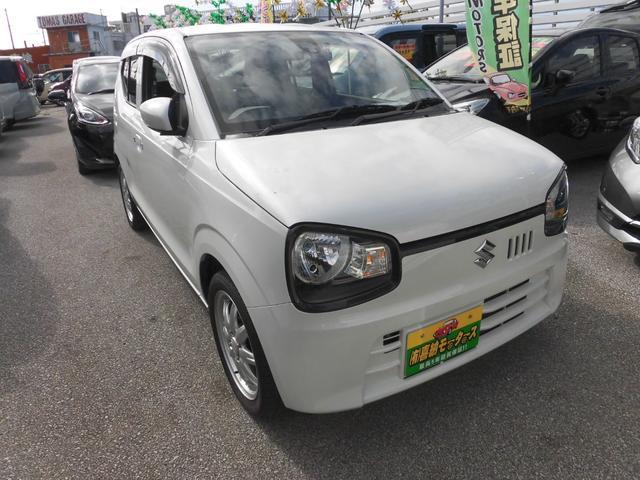 沖縄の中古車 スズキ アルト 車両価格 54万円 リ済込 2015(平成27)年 7.7万km パール