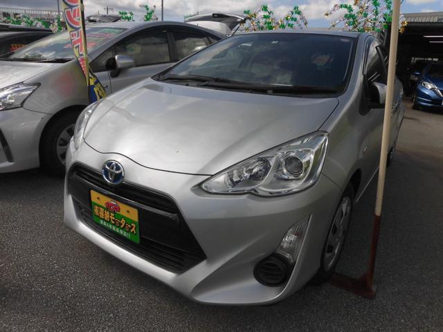 沖縄県の中古車ならアクア S ドライブレコーダー付