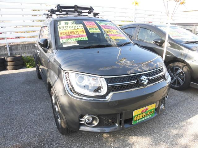 沖縄県の中古車ならイグニス Fリミテッド 衝突軽減ブレーキ レザー調シート
