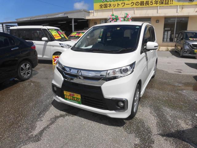 沖縄県の中古車ならeKカスタム Gセーフティパッケージ