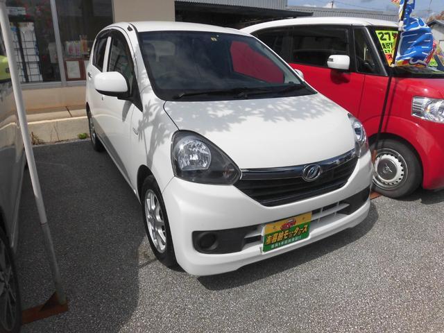 沖縄の中古車 ダイハツ ミライース 車両価格 34万円 リ済込 2016(平成28)年 9.9万km ホワイト