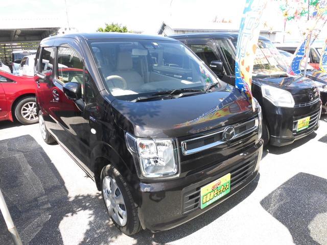 沖縄の中古車 マツダ フレア 車両価格 93万円 リ済込 2019年 1.7万km ブラウンM