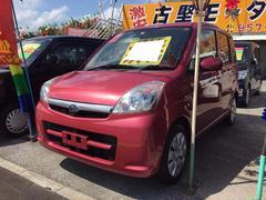 沖縄の中古車 スバル ステラ 車両価格 33万円 リ済込 平成20年 9.3万K コーラルピンクメタリック