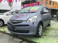 沖縄の中古車 トヨタ ラクティス 車両価格 38万円 リ済込 平成21年 9.2万K ブルーメタリック