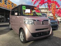 沖縄の中古車 ホンダ N BOX 車両価格 69万円 リ済込 平成24年 10.6万K チェリーシェルピンクメタリック