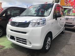 沖縄の中古車 ホンダ ライフ 車両価格 43万円 リ済込 平成25年 6.2万K パール