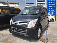 沖縄の中古車 スズキ ワゴンR 車両価格 43万円 リ済込 平成21年 8.4万K ブラック
