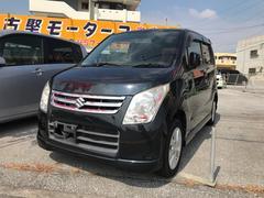沖縄の中古車 スズキ ワゴンR 車両価格 47万円 リ済込 平成21年 8.1万K ブラック