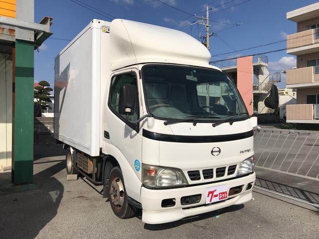 沖縄の中古車 日野 デュトロ 車両価格 60万円 リ済込 平成13年 26.7万km ホワイト