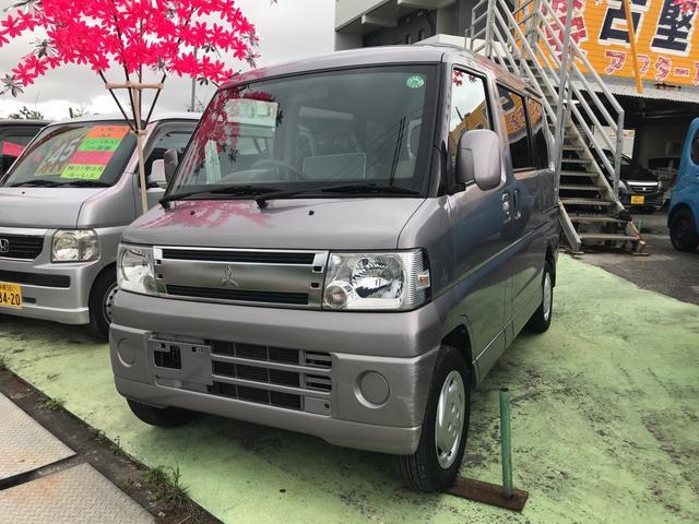 沖縄の中古車 三菱 タウンボックス 車両価格 43万円 リ済込 2009(平成21)年 10.1万km ガンM