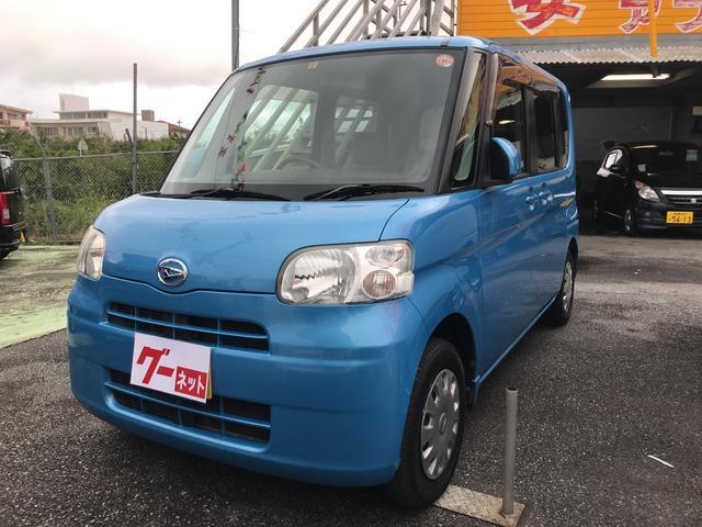 沖縄の中古車 ダイハツ タント 車両価格 46万円 リ済込 平成22年 9.5万km ブルー