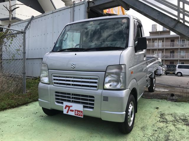 沖縄の中古車 スズキ キャリイトラック 車両価格 52万円 リ済込 2011(平成23)年 13.6万km シルバー