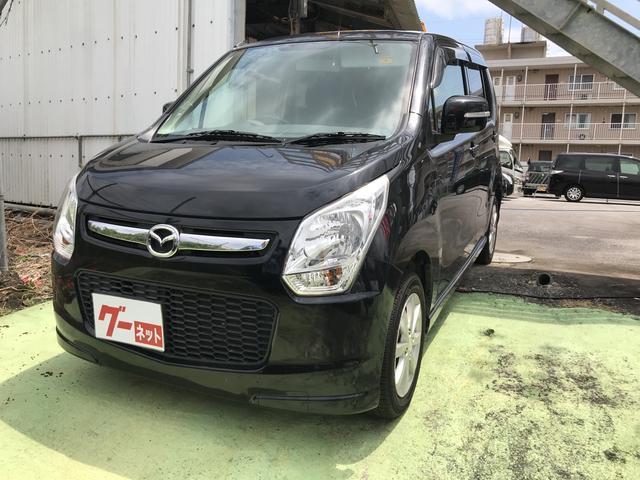 沖縄の中古車 マツダ フレア 車両価格 47万円 リ済込 2013(平成25)年 5.9万km ブラック